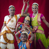 Indian dancers Royalty Free Stock Images