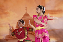 Indian dancers Stock Images