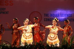 Indian Dances Royalty Free Stock Images
