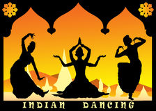 Indian dancing Stock Photography
