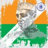 Indian_in_Day vektor illustrationer