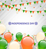 Indian Decoration in Traditional Tricolor Royalty Free Stock Photos