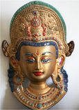 Indian deity. Symbols - object of ancient art Stock Photos