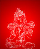 Indian deity Royalty Free Stock Images