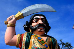 Indian demon statue Royalty Free Stock Photography