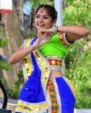 Indian Dancer at Chinatown Summer Fair Stock Image