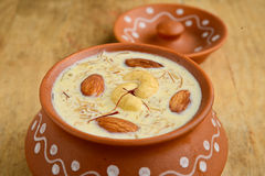Indian desert Kheer Royalty Free Stock Photography