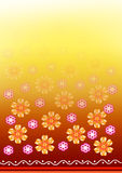 Indian design border Royalty Free Stock Photography
