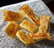 Indian dessert, patisapta diwali mithai. Homemade Patisapta/pitha served during celebrations like Diwali Dussehra Royalty Free Stock Images
