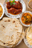 Indian dining Royalty Free Stock Photo