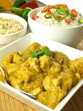 Indian dinner Stock Image