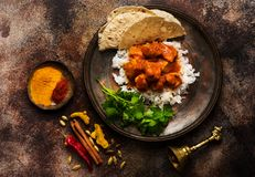 Indian dish Chicken tikka masala Stock Photography