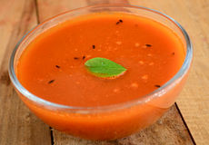 Indian dish-Rasam. South Indian dish-Rasam made from tomatoes and lentils Stock Images