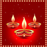 Indian diwali lamp Stock Photo