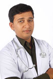 Indian Doctor. Portrait of Indian Young Doctor stock photos