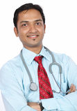 Indian Doctor. Portrait of Indian Doctor Posing to Camera royalty free stock photography