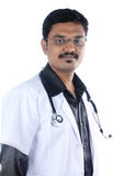 Indian Doctor. Posing to Camera royalty free stock photos