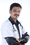 Indian Doctor. Portrait of Indian young Doctor stock photography