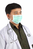 Indian Doctor in Mask Royalty Free Stock Photos