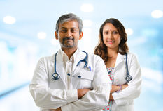 Indian doctors Royalty Free Stock Image