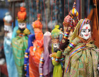 Indian Dolls stock photography