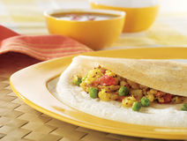 Indian dosa Royalty Free Stock Photos