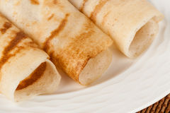 Indian Dosa Closeup Royalty Free Stock Image