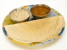 Indian Dosa Dish Stock Photography