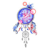 Indian Dream catcher,colorful digital ethnic element Stock Photography