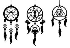 Indian dream catcher  Stock Photos