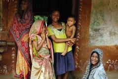 Indian Dress-Sari Stock Photo