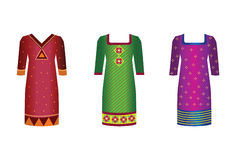 Indian Dresses Royalty Free Stock Photos