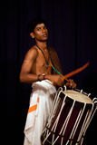 Indian drummer, South India Stock Photography
