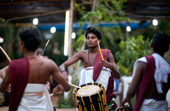 Indian drummers Royalty Free Stock Images