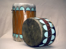 Indian drums Royalty Free Stock Images