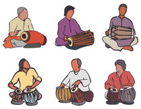 Indian drums set Stock Photography