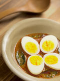 Indian egg curry Royalty Free Stock Photos