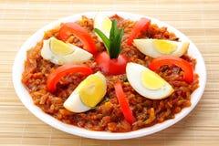 Indian egg masala Stock Photos