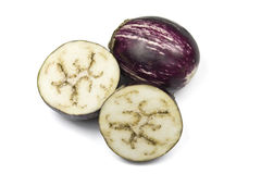 Indian Eggplant Or Asian Eggplant Royalty Free Stock Photos