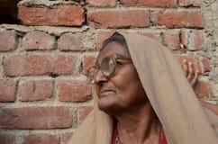 Indian elderly woman Royalty Free Stock Image