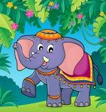 Indian elephant theme image 2 Royalty Free Stock Photos
