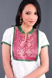 Indian Embroidered Women's App Royalty Free Stock Images