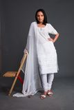 Indian Embroidered Women's App royalty free stock photos