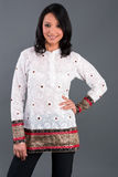 Indian Embroidered Women's Apparel Stock Image