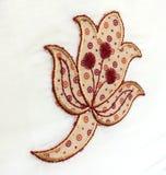 Indian Embroidery Work saree Stock Photos