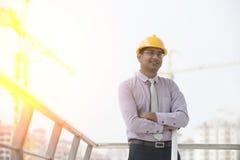 Indian engineer Stock Image