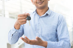 Indian estate agent royalty free stock photo