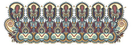 Indian ethnic floral paisley pattern. Perfect to mobile phone cover design, or printing to greeting card, tattoo collection and fabric design, paisley vector Stock Images