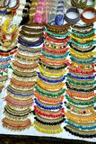 Indian Ethnic Jewellery Display, Fort Kochi Royalty Free Stock Images