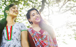 Indian Ethnicity Friendship Togetherness Concept Stock Photo